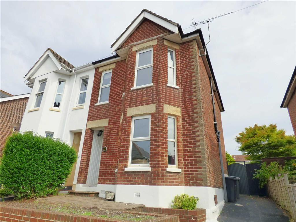 3 Bedrooms Semi Detached House for rent in Pine Road, Winton, Bournemouth, Dorset