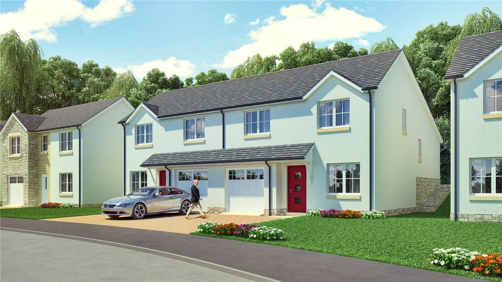 3 Bedrooms Semi Detached House for sale in The Callum, Plot 73, Hayfield Brae, Methven, Perth, PH1