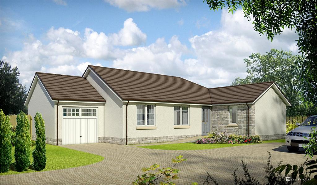 3 Bedrooms Detached Bungalow for sale in The Caitrin, Plot 111, Hayfield Brae, Methven, Perth, PH1