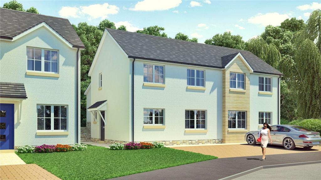 3 Bedrooms Semi Detached House for sale in The Johnson, Plot 77, Hayfield Brae, Methven, Perth, PH1