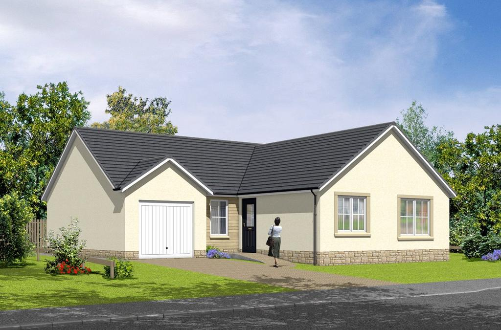 3 Bedrooms Detached Bungalow for sale in The Roxburgh, Plot 110, Hayfield Brae, Methven, Perth, PH1