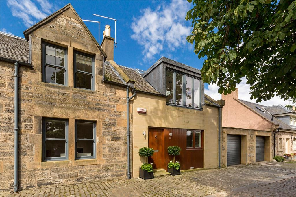 3 Bedrooms Terraced House for sale in Inverleith Place Lane, Edinburgh