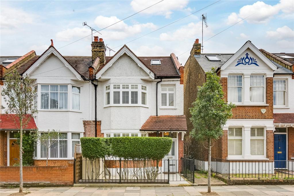 4 Bedrooms End Of Terrace House for sale in Kingsway, Mortlake, London