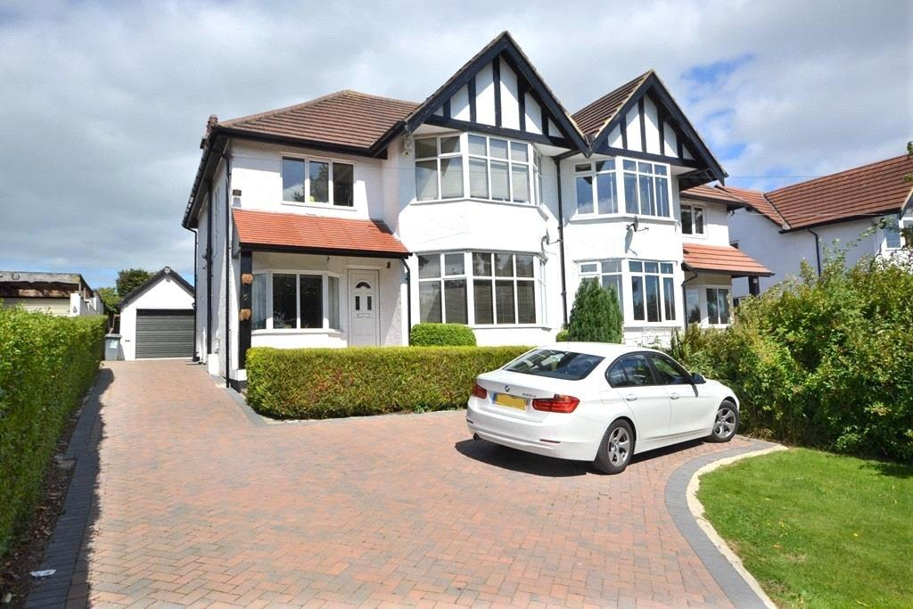 4 Bedrooms Semi Detached House for rent in Kings Road, Bramhope, Leeds, West Yorkshire