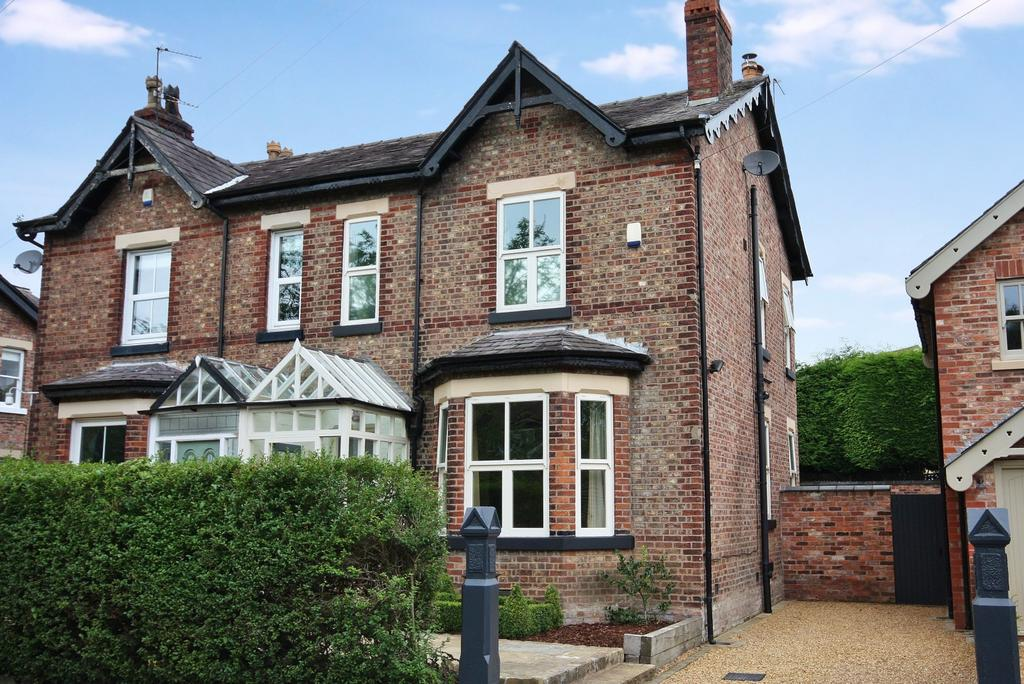 4 Bedrooms Semi Detached House for sale in Moor Lane, Wilmslow