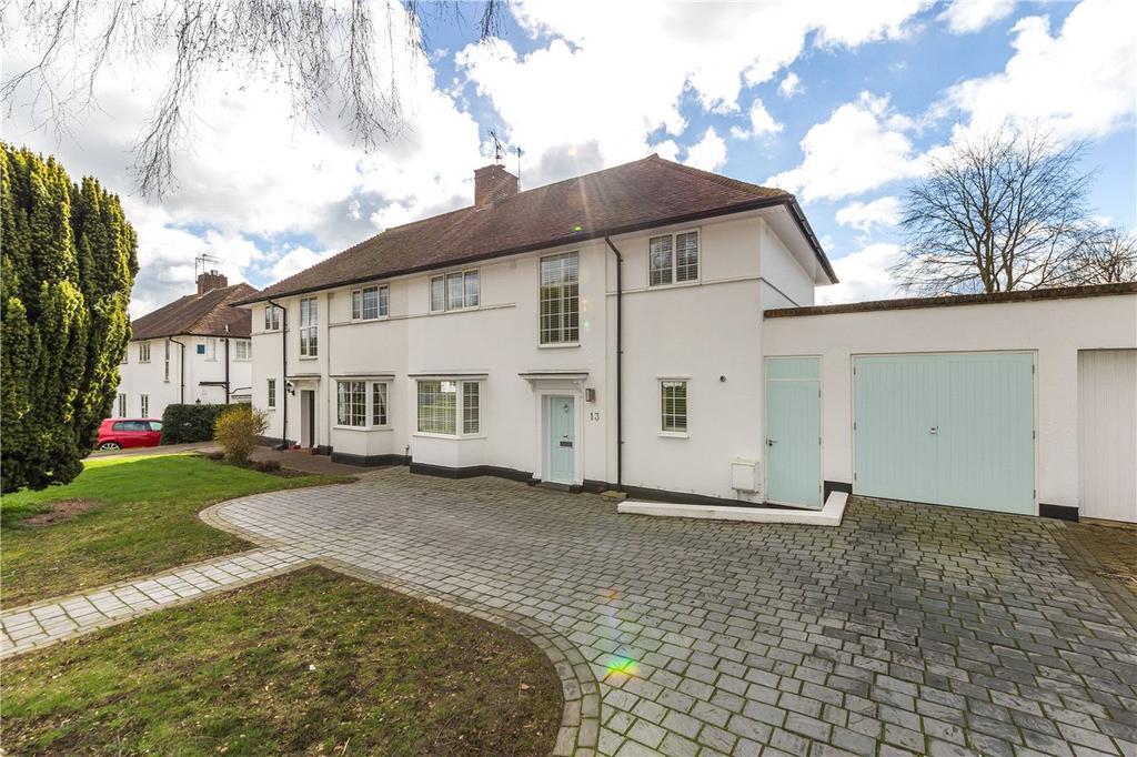 4 Bedrooms Semi Detached House for sale in Brockswood Lane, Welwyn Garden City, Hertfordshire