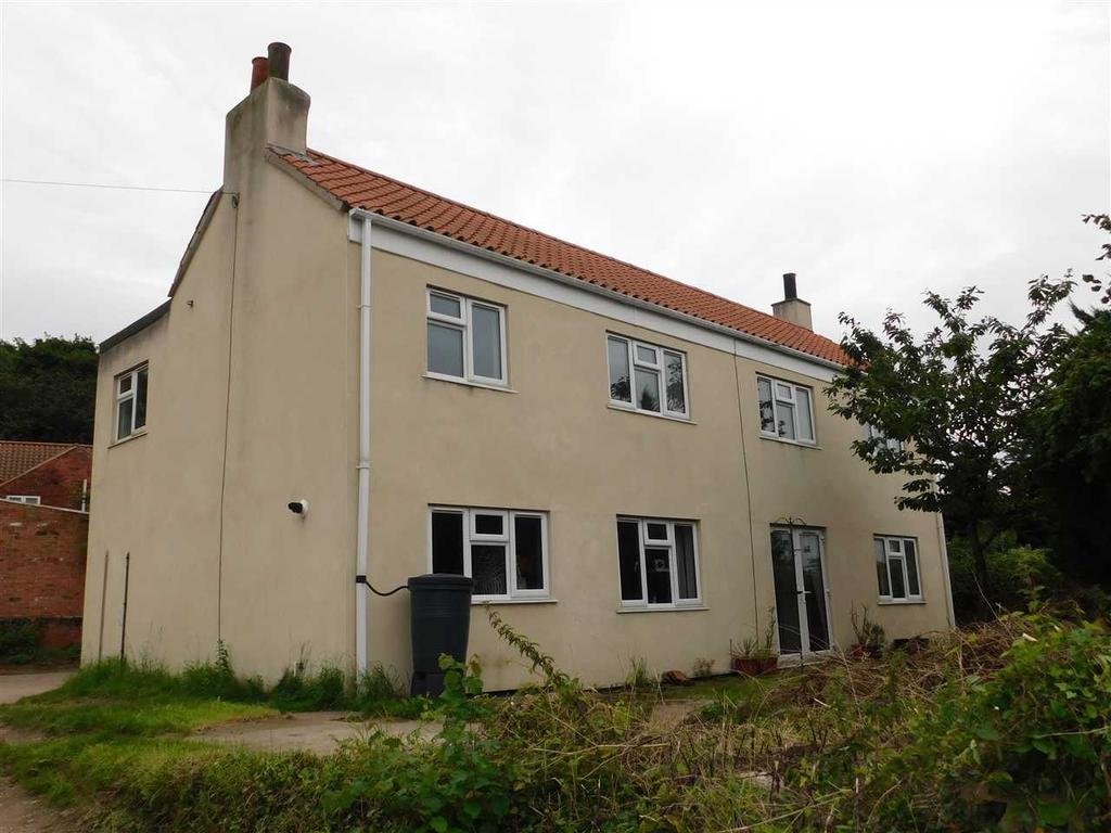 4 Bedrooms Detached House for sale in THE GREY HOUSE, SOUTH END, SOUTH FERRIBY, BARTON ON HUMBER
