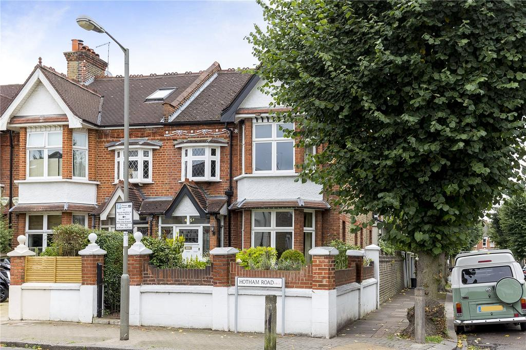 4 Bedrooms Semi Detached House for sale in Hotham Road, London, SW15