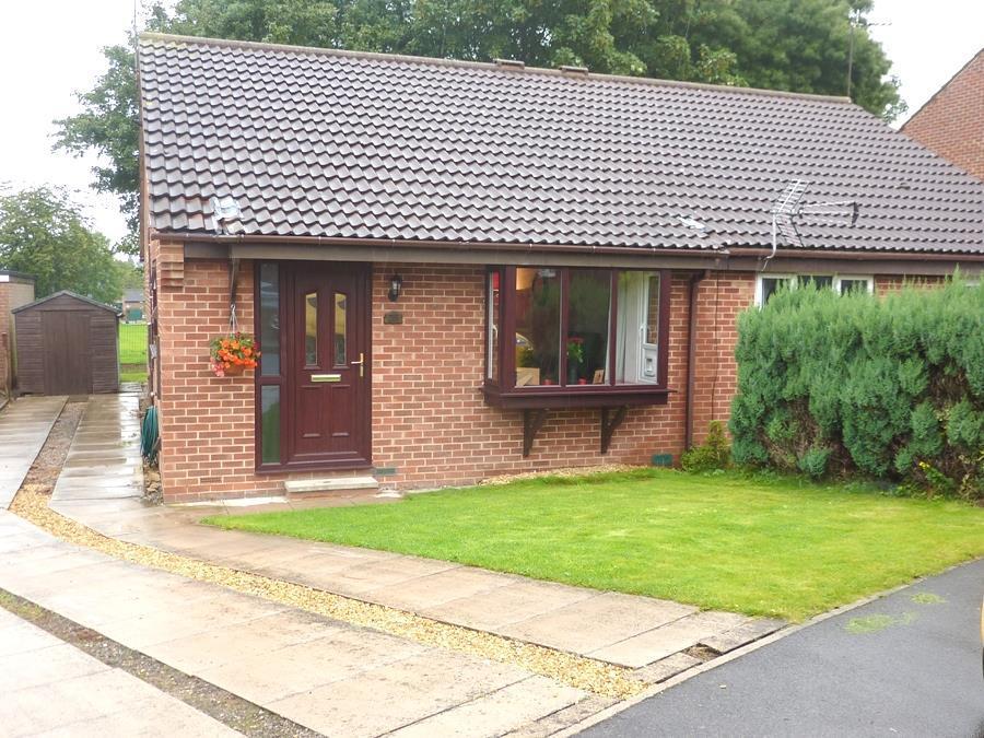 2 Bedrooms Semi Detached Bungalow for sale in Scholla View, Northallerton