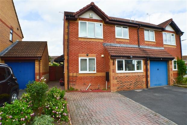 3 Bedrooms Semi Detached House for sale in Stanley Close Bridgwater TA6