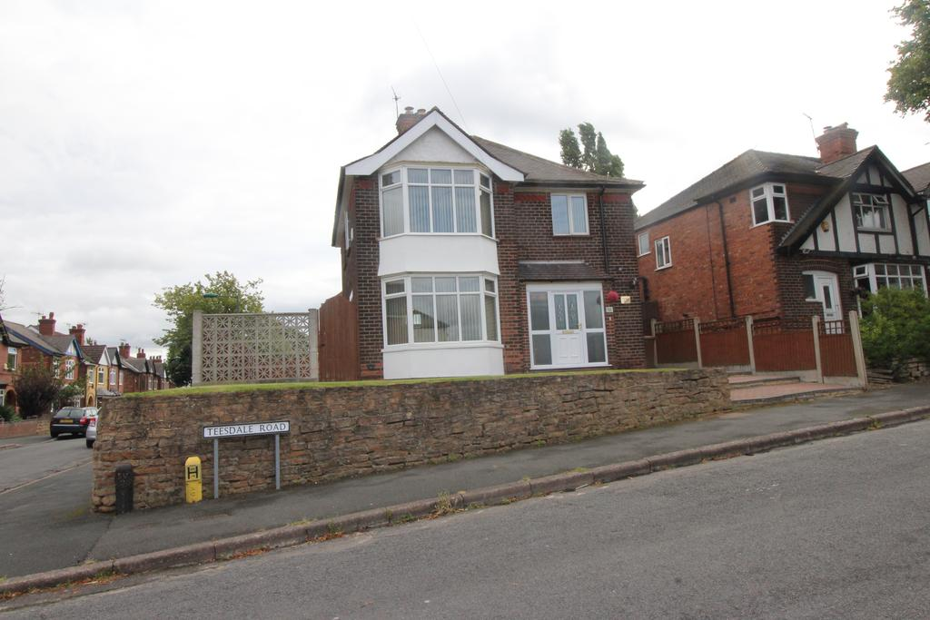 3 Bedrooms Detached House for sale in Teesdale Road, Sherwood NG5