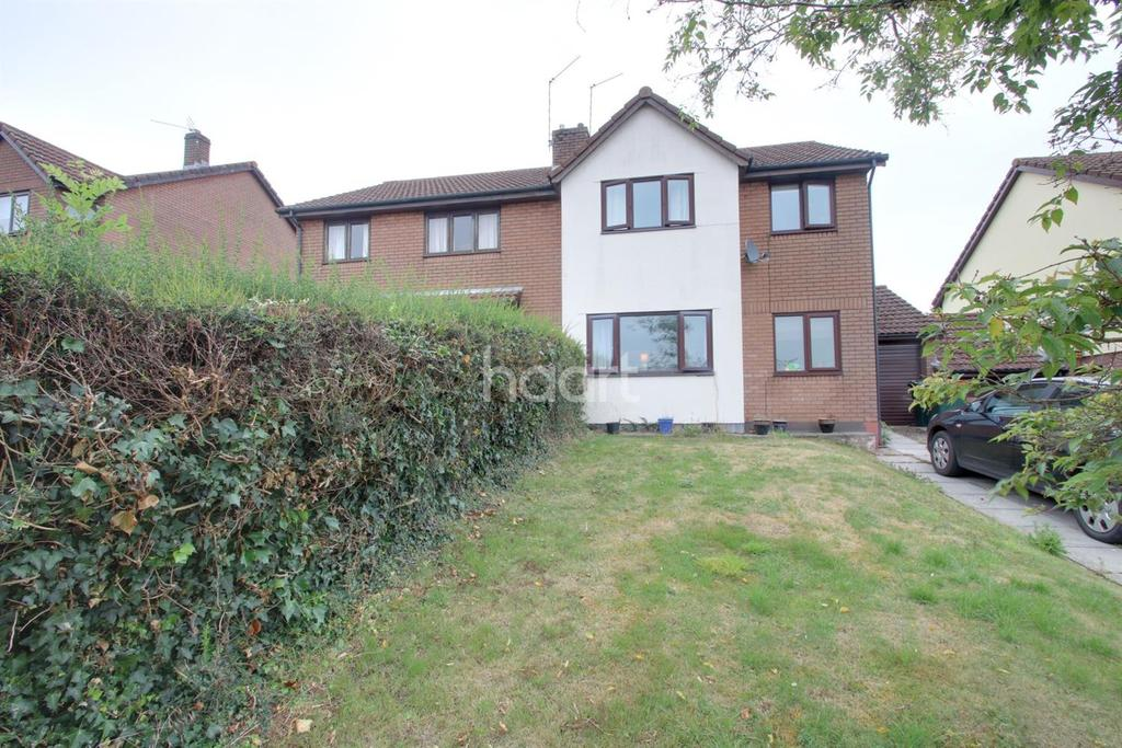 3 Bedrooms Semi Detached House for sale in Lodge Hill, Caerleon, Newport