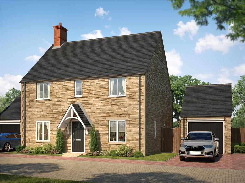 4 Bedrooms Detached House for sale in Hatfield, Meadow View, Adderbury, Oxfordshire, OX17