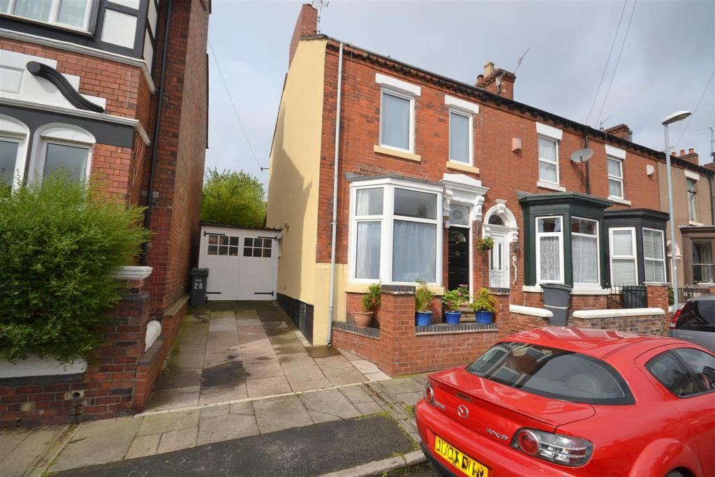 2 Bedrooms End Of Terrace House for sale in Gladstone Street, Basford, Stoke-On-Trent
