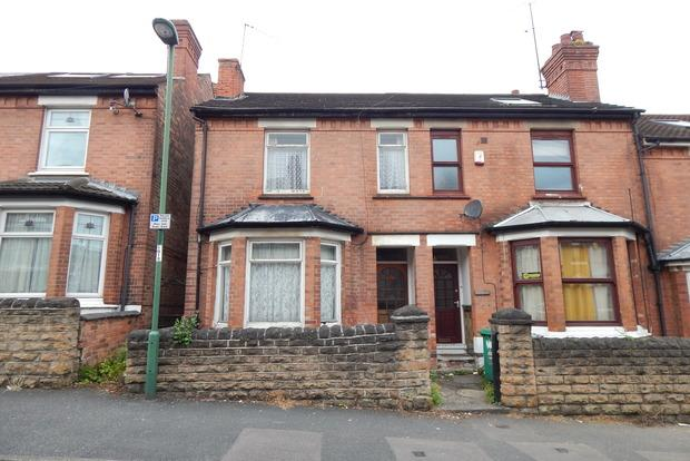 2 Bedrooms End Of Terrace House for sale in Balfour Road, Lenton, Nottingham, NG7