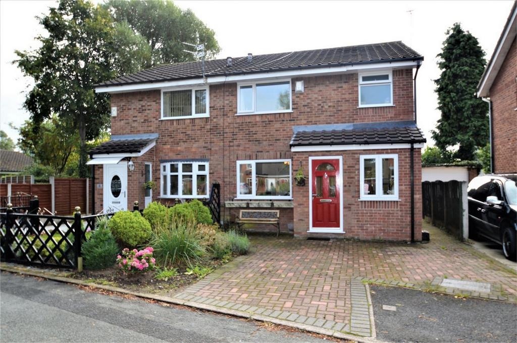 3 Bedrooms Semi Detached House for sale in Aspenwood Drive, SALE, Cheshire