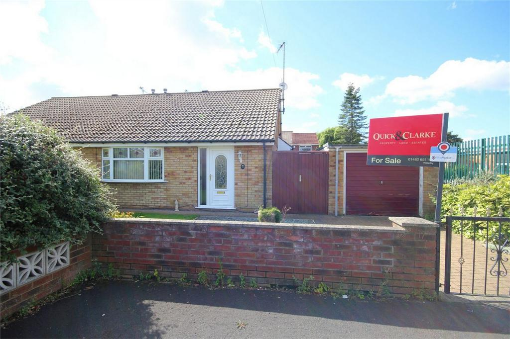 2 Bedrooms Semi Detached Bungalow for sale in Langford Walk, Anlaby Common, Hull, East Riding of Yorkshire