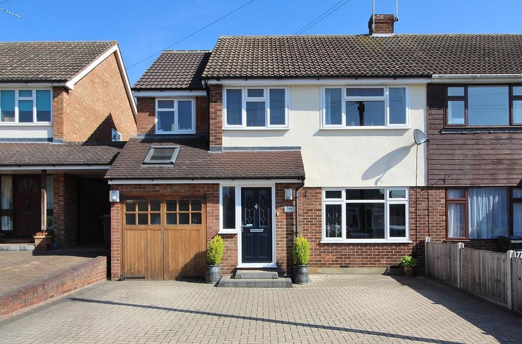 5 Bedrooms Semi Detached House for sale in Glebe Crescent, Broomfield, Chelmsford, Essex, CM1