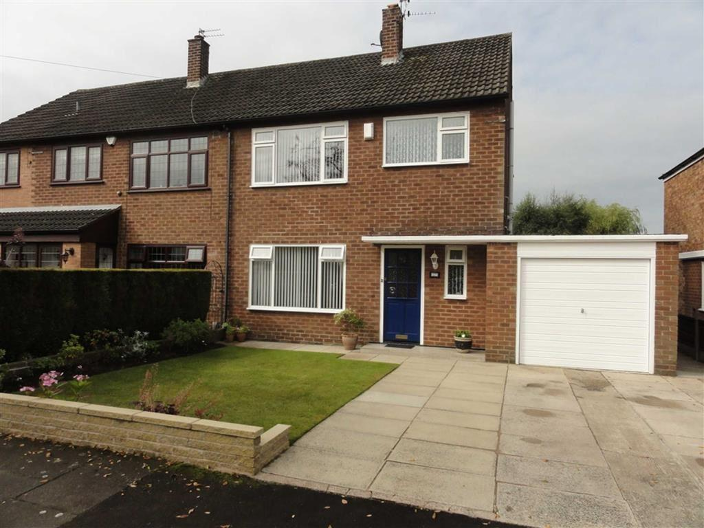 3 Bedrooms Semi Detached House for sale in Elmsleigh Road, Heald Green