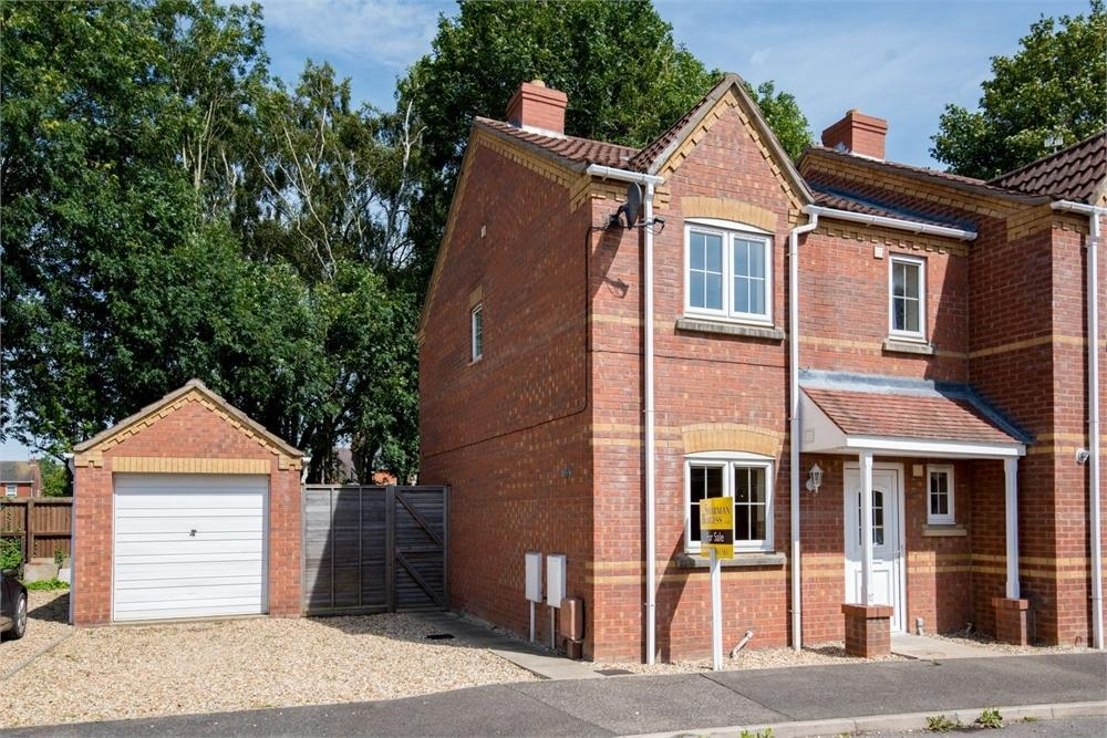 3 Bedrooms Semi Detached House for sale in Kings Court, Kirton, Boston, Lincolnshire