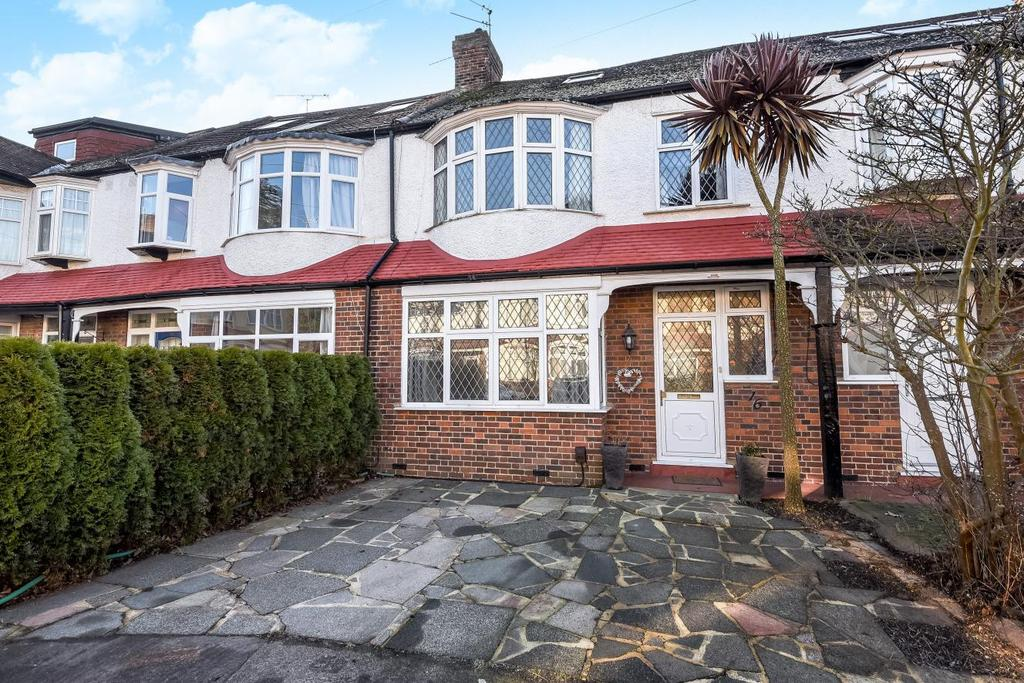 4 Bedrooms Terraced House for sale in Meadway, Raynes Park