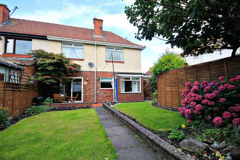 3 Bedrooms Semi Detached House for sale in Musgrave Gardens, Gilesgate, Durham