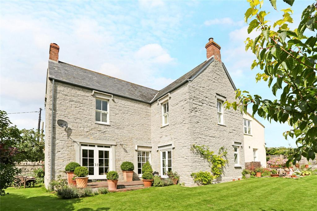 4 Bedrooms Detached House for sale in Hillway, Charlton Mackrell, Somerton, Somerset