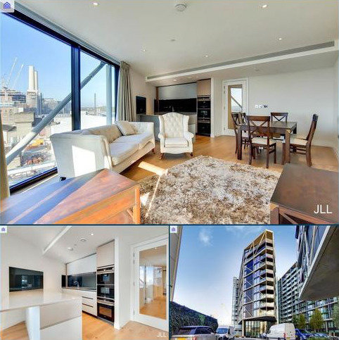3 bedroom flat to rent - Riverlight Quay, London, SW11