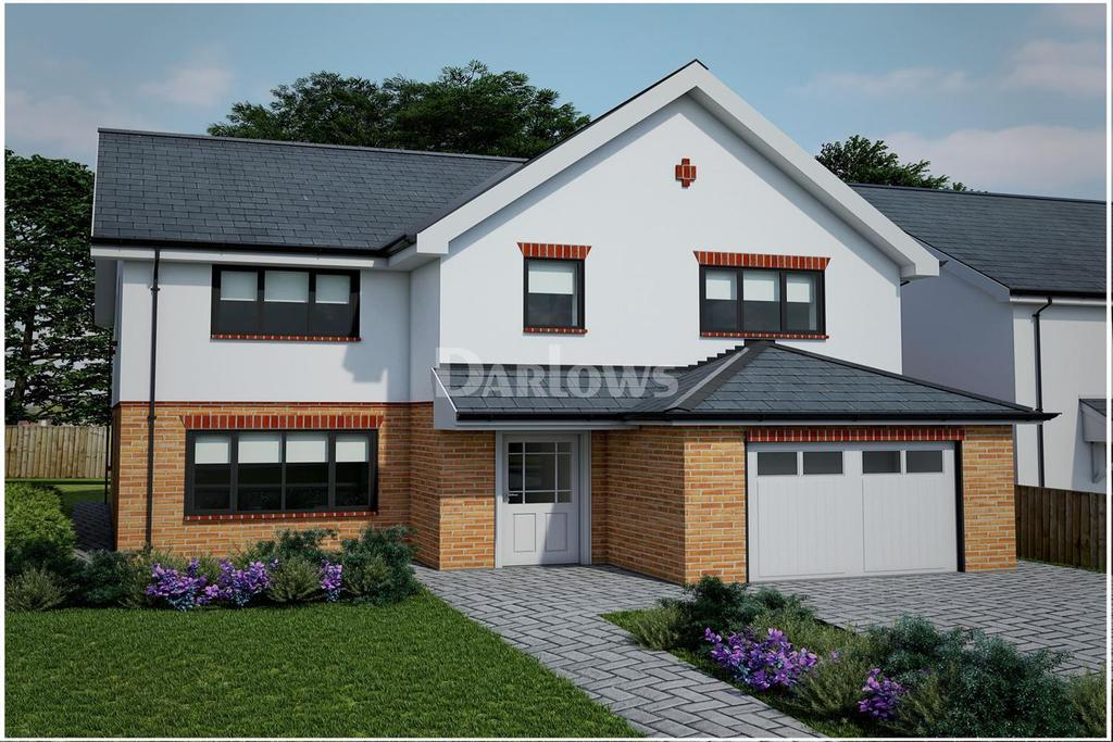 4 Bedrooms Detached House for sale in The Sandpiper, Clos Afon