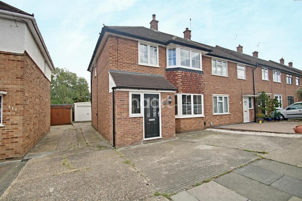 3 Bedrooms End Of Terrace House for sale in Heron Way, Upminster
