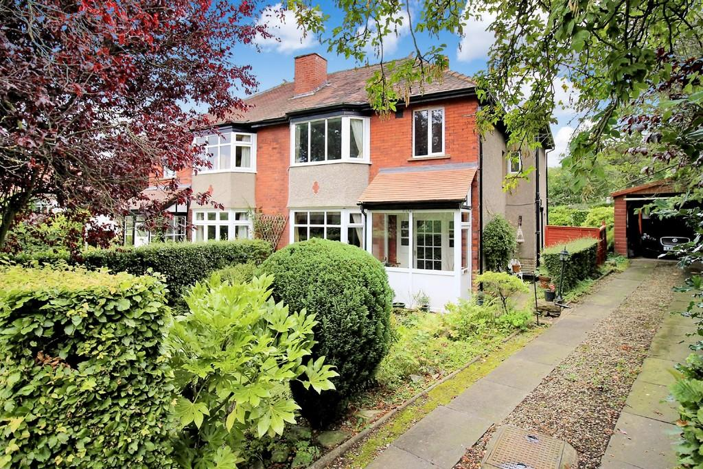 4 Bedrooms Semi Detached House for sale in Margerison Road, Ben Rhydding, Ilkley