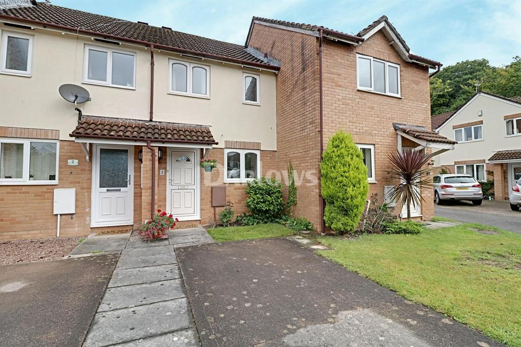 2 Bedrooms Terraced House for sale in Cherrywood Close, Thornhill, Cardiff, CF14