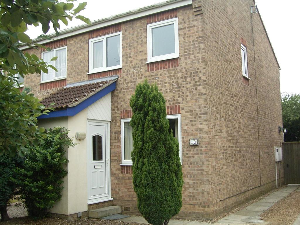 2 Bedrooms Semi Detached House for sale in Willow Court, Sleaford, Lincolnshire, NG34
