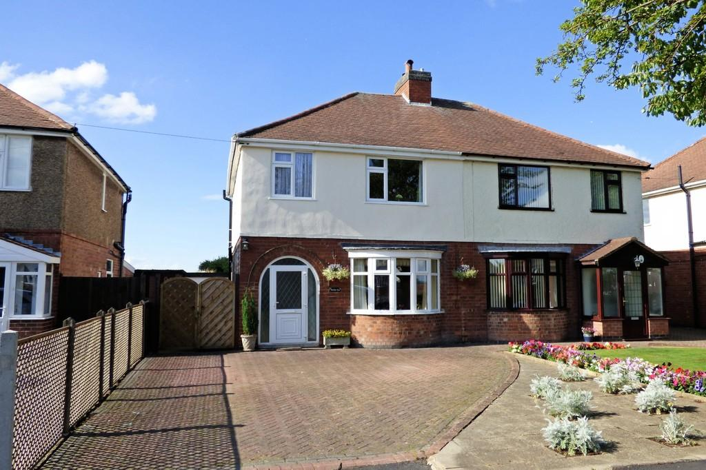 3 Bedrooms Semi Detached House for sale in Beamhill Road, Stretton