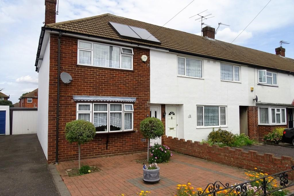 2 Bedrooms End Of Terrace House for sale in Stuart Way, Staines-upon-Thames, TW18
