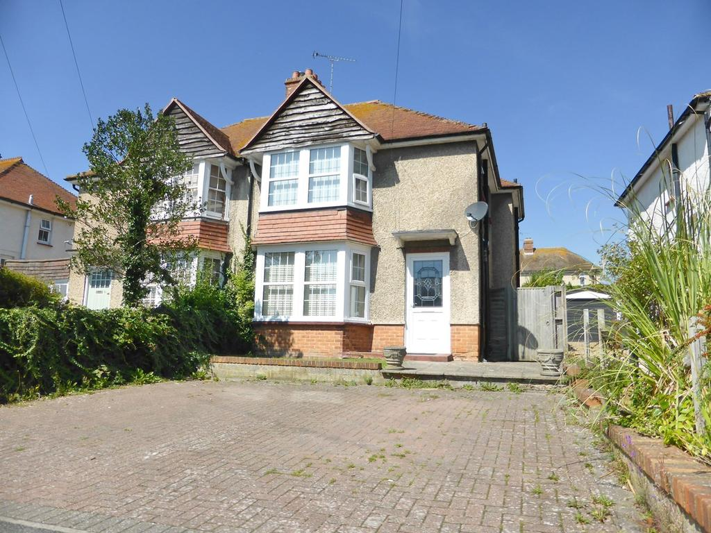 3 Bedrooms Semi Detached House for sale in Cavalry Crescent, Old Town, Eastbourne, BN20