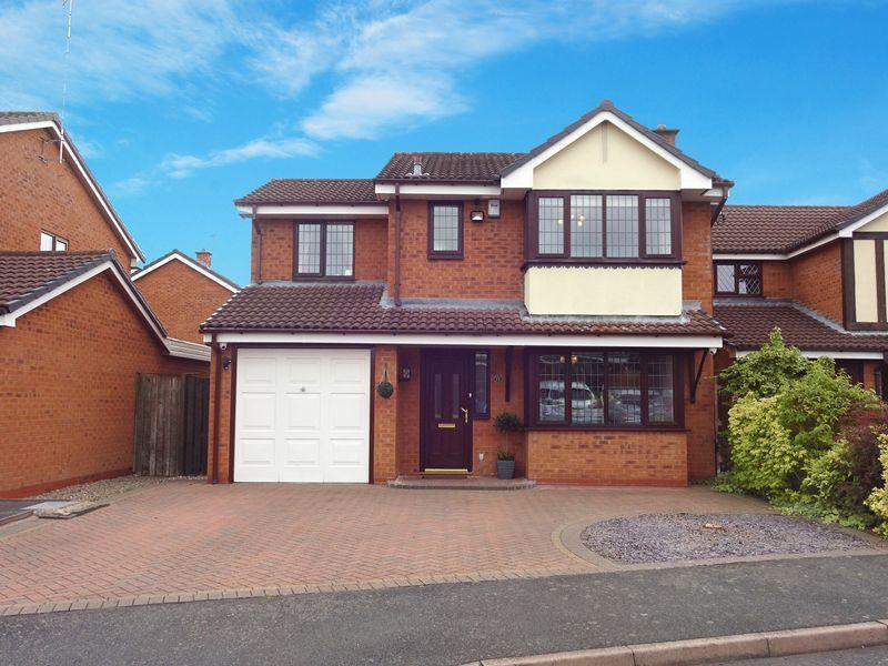 4 Bedrooms Detached House for sale in Cutty Sark Drive Stourport on Severn DY13 9RP