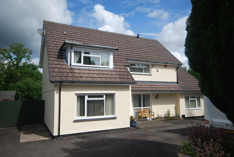 3 Bedrooms Detached House for sale in Maes Y Coed, Heol Eglwys, Coelbren, Neath, SA10 9PF
