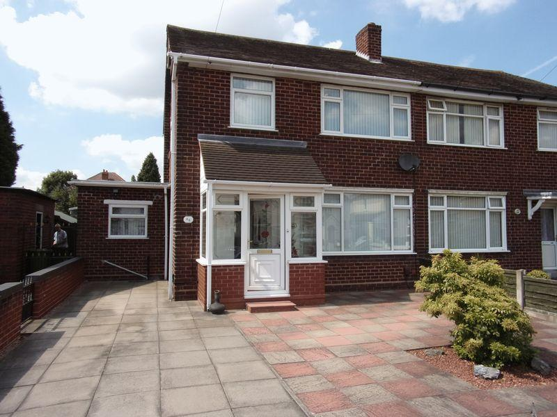 3 Bedrooms Semi Detached House for sale in Norbury Avenue, Pelsall, Walsall.