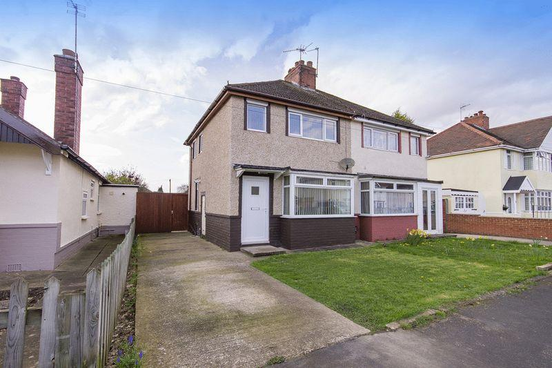2 Bedrooms Semi Detached House for sale in GRANGE ROAD, ALVASTON