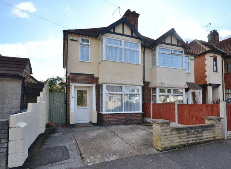 2 Bedrooms Semi Detached House for sale in MAYFIELD ROAD, CHADDESDEN