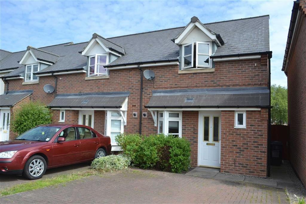 2 Bedrooms Terraced House for sale in Beddow Close, St Michaels Gate, Shrewsbury