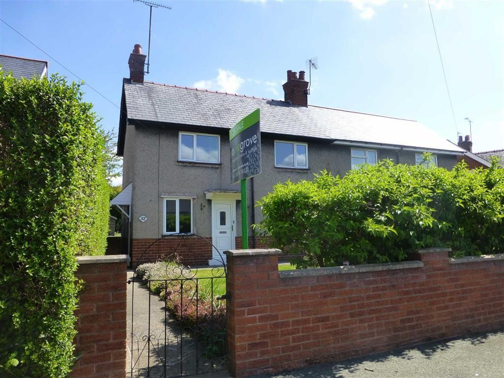 3 Bedrooms Semi Detached House for sale in Cae Gwilym Lane, Cefn Mawr, Wrexham