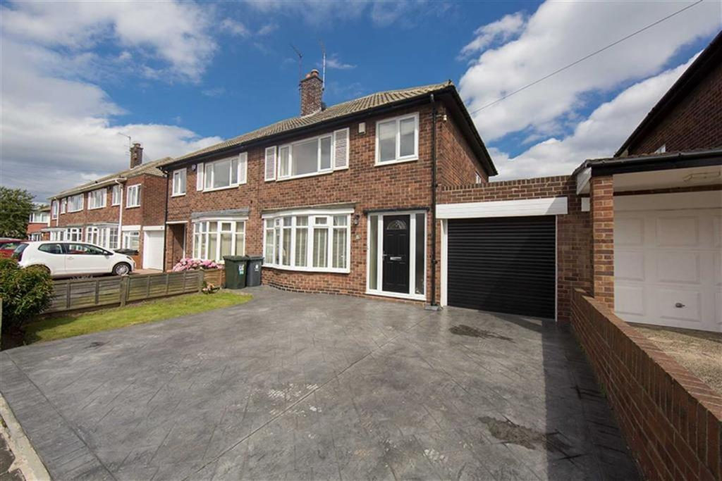 3 Bedrooms Semi Detached House for sale in Westlands, North Shields, Tyne And Wear, NE30