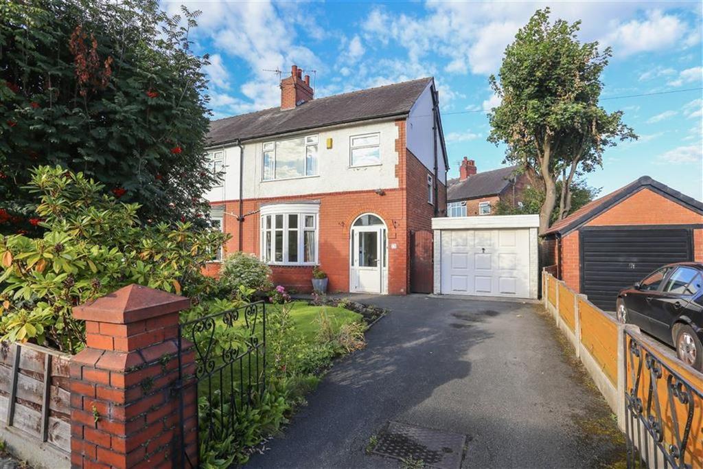 3 Bedrooms Semi Detached House for sale in Derby Road, Heaton Moor