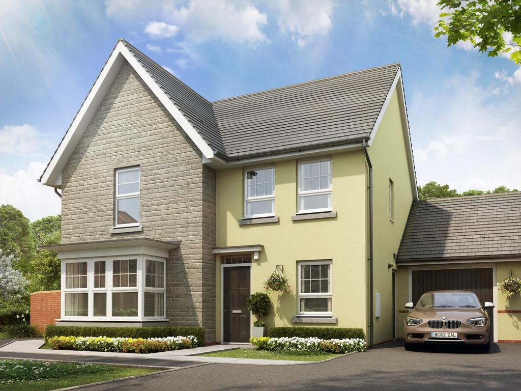 4 Bedrooms Detached House for sale in Plot 127, Saxon Fields, Cullompton