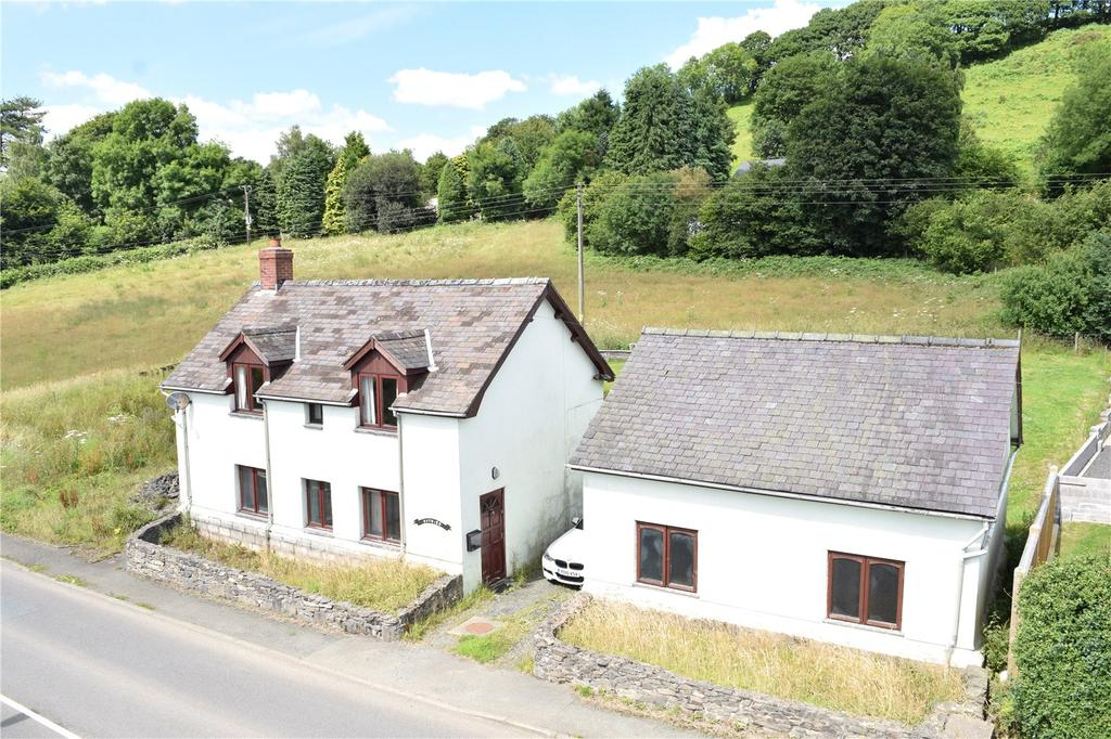 2 Bedrooms Detached House for sale in Foel, Welshpool, Powys