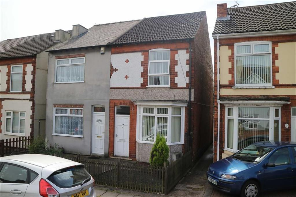 2 Bedrooms Semi Detached House for sale in Charnwood Street, Sutton In Ashfield, Notts, NG17