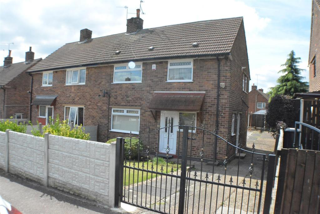 3 Bedrooms Semi Detached House for sale in Elm Tree Avenue, Shirebrook, Mansfield
