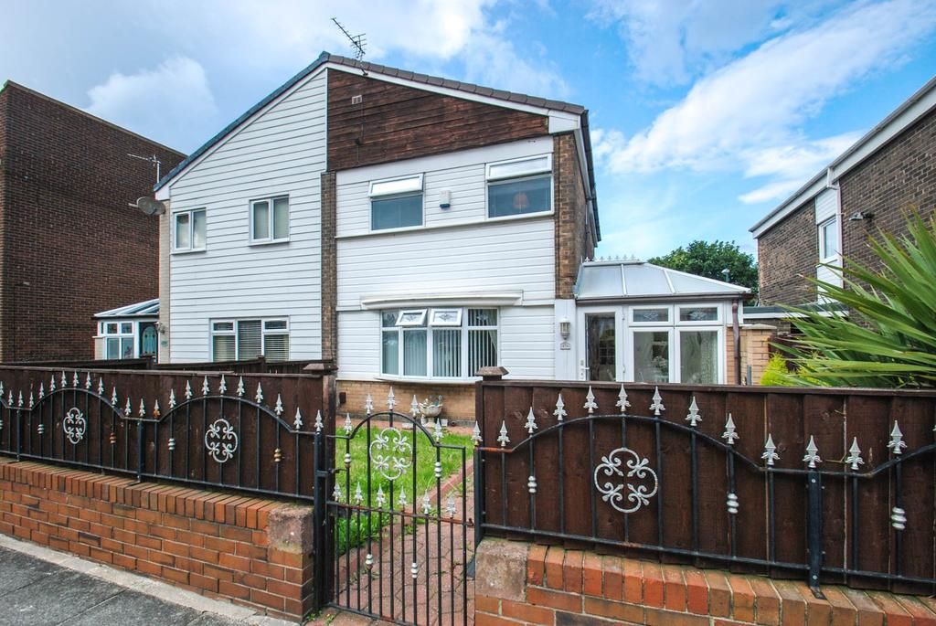 3 Bedrooms Semi Detached House for sale in Bamburgh Avenue, South Shields